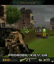 Brothers In Arms Earned In Blood для Symbian 9