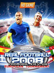 Real Football 2008: European Tournament для Symbian 9