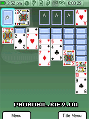 Astraware Solitaire для Symbian 9