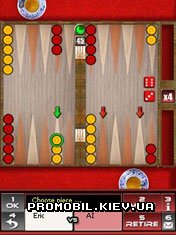 Multiplayer Championship Backgammon для Symbian 9
