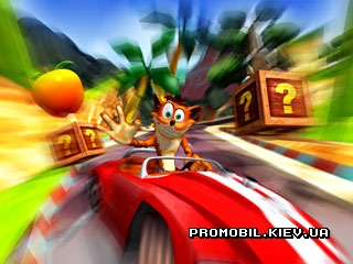 Crash Bandicoot Nitro Kart 3D для Symbian 9