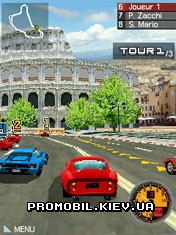 Ferrari GT: Evolution HD для Symbian 9