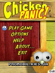 The Bubble Games Chicken Panic для Symbian 9