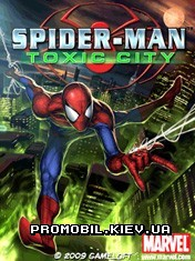 Spider-Man: Toxic City HD для Symbian 9