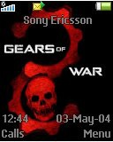Тема для Sony Ericsson 128x160 - Gear Of War