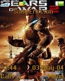 Тема для Sony Ericsson Z320i - Gears Of War