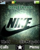 Тема для Sony Ericsson 128x160 - New Nike Cool