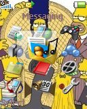 Тема для Sony Ericsson 128x160 - Simpsons