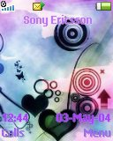 Тема для Sony Ericsson 128x160 - Abstract