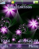 Тема для Sony Ericsson 128x160 - Purple