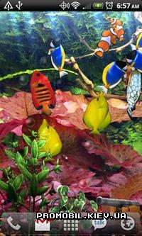 Живые обои для андроид аквариум скачать бесплатно 4