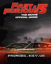 Игра для телефона Fast & Furious the Movie: Official Game