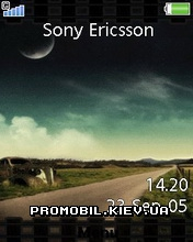 Тема для Sony Ericsson 240x320 - The Road