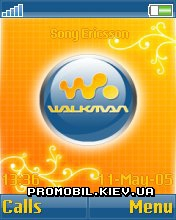 Тема для Sony Ericsson 176x220 - Walkman Ball