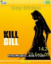 Тема для Sony Ericsson 240x320 - Kill Bill
