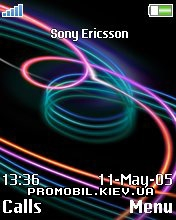 Тема для Sony Ericsson 176x220 - Waves