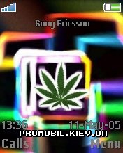 Тема для Sony Ericsson 176x220 - Weedo abstract
