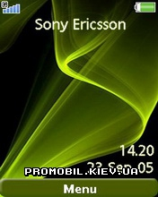 Тема для Sony Ericsson 240x320 - Green Delight