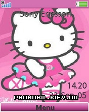 Тема для Sony Ericsson 240x320 - Hello Kitty