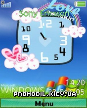 Тема для Sony Ericsson 240x320 - Windows Love