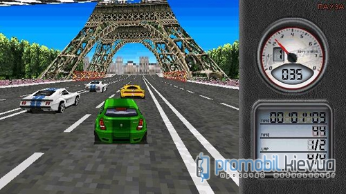 Global Race Raging Thunder для Symbian 9.4