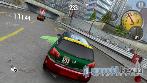 Need For Speed Shift HD для Symbian 3