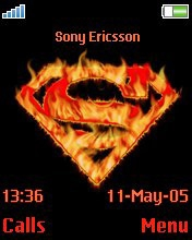 Тема для Sony Ericsson 176x220 - Hot Superman