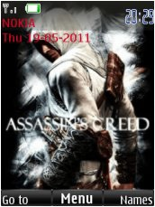 Тема для Nokia Series 40 - Asassians Creed