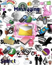 Тема для Sony Ericsson 176x220 - Love you