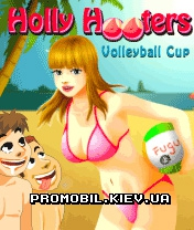 Игра для телефона Holly Hooters Volleyball Cup